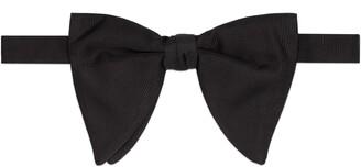 Gucci Long silk faille bow tie