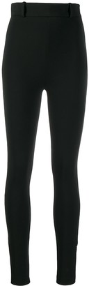 Versace High-Waist Skinny Trousers