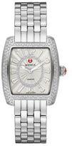 Michele Urban Mini 16 Diamond & Stainless Steel Bracelet Watch