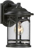 Quoizel Marblehead 11-Inch Wall Lantern in Mystic Black