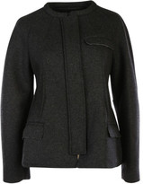 Isabel Marant Fenton Oversize Raised Seam Wool Coat