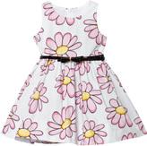 MonnaLisa Pink Daisy Print Dress