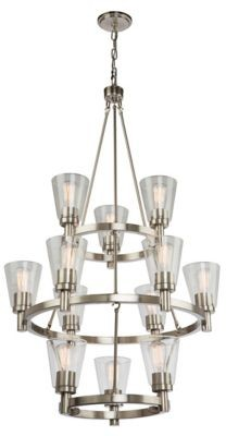 Artcraft Lighting Clarence 3-Tier Chandelier