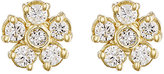 Jennifer Meyer Women's White Diamond Flower Stud Earrings