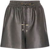 Diane von Furstenberg Fontana Leather Short