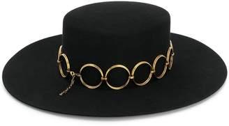 Saint Laurent Andalusian felt hat