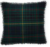Ralph Lauren Clark Tartan Throw Pillow