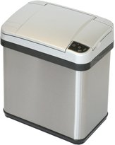 iTouchless Stainless Steel Multifunction Sensor Trash Can