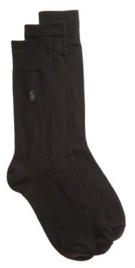 Polo Ralph Lauren Super Soft Men's Crew Socks - 3 Pack