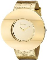 Freelook Women's HA8250G-3 Rondo Round Shape Watch