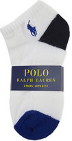 Ralph Lauren Pony Ankle Socks Pack Of Three