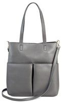 Mossimo Women's Small Crossbody Tote with Pockets