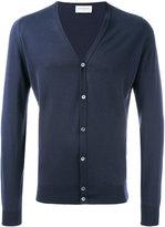 John Smedley classic cardigan - men - Cotton - XL