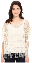 Roper 0336 Crochet Lace Poncho