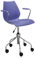 Kartell Maui Swivel Armchair - Navy Blue