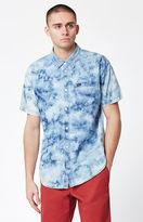 RVCA Acid Rain Short Sleeve Button Up Shirt
