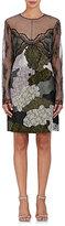 Nina Ricci WOMEN'S LACE & SATIN SHIFT DRESS