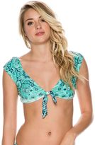 Billabong Beach Beauty Short Sleeve Crop Bikini Top