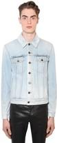 Saint Laurent Classic Cotton Denim Jacket