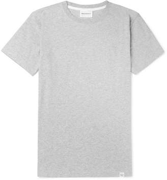 Norse Projects Niels Melange Cotton-Jersey T-Shirt