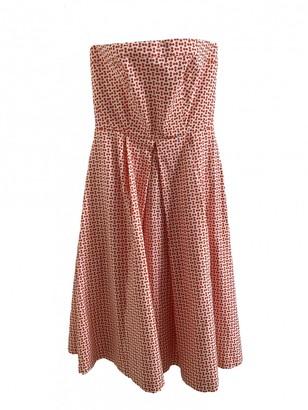 Tara Jarmon Red Cotton Dress for Women