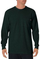 Dickies Men's Cotton Heavyweight Long Sleeve Pocket T-Shirt
