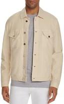 7 For All Mankind Ecru Trucker Jacket
