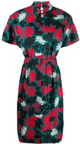 Marni Foliage Shirt Dress