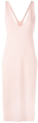 Stella McCartney racer back midi dress