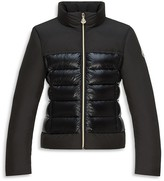 Moncler Girls' Fitted Puffer Jacket - Sizes 8-14