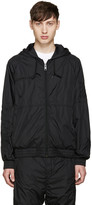 Alexander Wang Black Embroidered Nylon Jacket