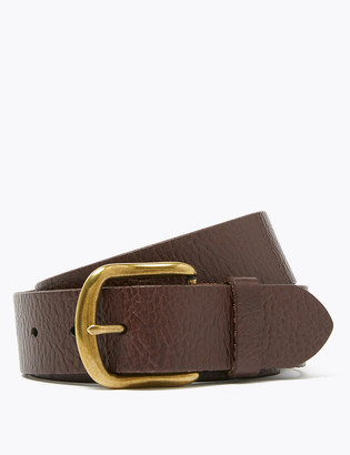 Marks and Spencer Leather Textured Belt