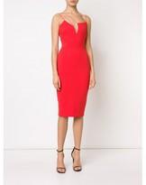 Victoria Beckham asymmetric spaghetti strap dress