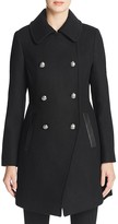 Trina Turk Olivia Double-Breasted Button Front Coat