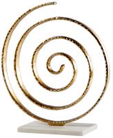 Torre & Tagus Matte Swirl Sculpture