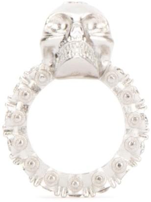 Alexander McQueen Skull Logo Ring