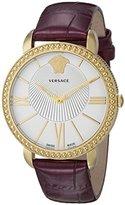 Versace Women's VQQ020015 New Krios Analog Display Quartz Purple Watch