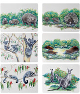 N/A Animals Of Australia Placemat Assorted 34x27cm Set Of 6
