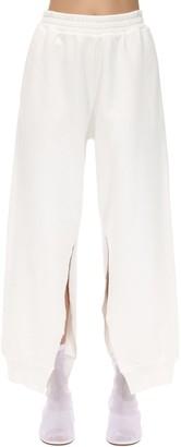 MM6 MAISON MARGIELA Plain Cotton Track Pants