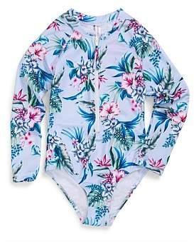 Sunseeker Tween Aloha Seasport Rash 1Pc (Girls 8-14)