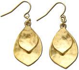 Lauren Ralph Lauren Gold-Tone Leaf Drop Earrings