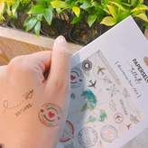 PAPERSELF Travel Temporary Tattoo