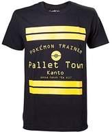 Pokemon Pallet Town Kanto Men's T-Shirt, (TS408064POK-S)