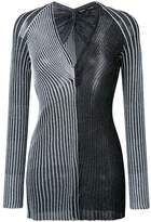 Proenza Schouler sparkle detail knitted top