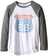 The Original Retro Brand Kids - Cali 66 Long Sleeve Baseball Cali 66 Raglan Boy's T Shirt