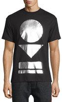 McQ by Alexander McQueen Geometric-Print Short-Sleeve T-Shirt