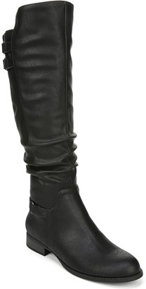 LifeStride Ruched High-Shaft Boots - Faunia