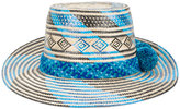 Yosuzi Blue Marea Hat - women - Straw - One Size