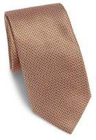 Brioni Azure Weave Printed Silk Tie