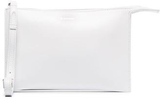 Jil Sander Tootie logo-embossed clutch bag